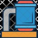 Water Plant Boiler Industry Boiler Icon