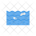 Water Polltuion Waste Pollution Icon