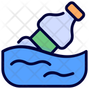 Water Pollution Sawer Icon
