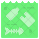 Water Plastic Bag Icon