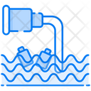 Water Pollution Water Contamination Environmental Pollution Icon