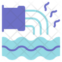 Water Pollution Ecology Environment Icon