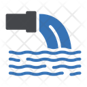 Water Pipe Wastage Icon