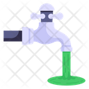 Water Tap Faucet Water Pollution Icon