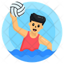 Water Sports Water Polo Polo Player Icon