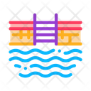 Water Pool Physical Icon