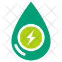Water Power Clean Power Natural Energy Icon