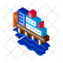 Water Power Plant Icon