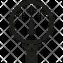 Water Pressure Meter Meter Fixture Icon