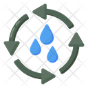 Water Recycle Water Reuse Save Water Icon