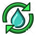 Water Recycle Ecology Icon