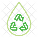Water Recycle Recycling Icon