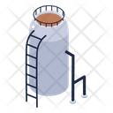 Water Filtration Water Plant Water Refinery Icon