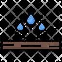 Water Resistant Wood Carpentry Home Repair Icon