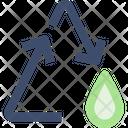Water Reusem Water Reuse Water Icon