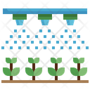 Water Saving System Water System Farming Icon
