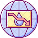 Water Scarcity Icon