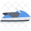 Water Scooter Delivery Icon
