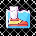 Water Shoes Water Footwear Icon