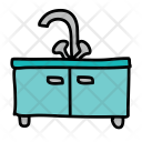 Sink Water Drawer Icon