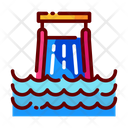 Water Slide Waterpark Slide Slide Icon