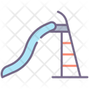 Water Slide Water Park Slide Icon