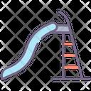 Water Slide Water Park Slide Icon