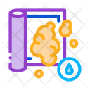 Water Soapy Carpet Icon