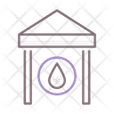 Water Station Water Pipe Water Station Icon