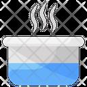 Water Steam Hot Water Warm Water Icon