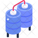 Boiler Tank Water Storage Water Cylinder Icon