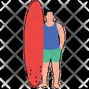Water Surfing Surfing Kayaking Sports Surfing Icon