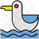 Summer Water Swim Icon