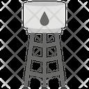 Water Tank Water Reservoir Water Drum Icon
