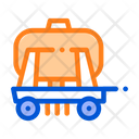 Trailer Cargo Water Icon
