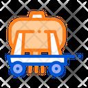 Trailer Cargo Water Icon
