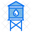 Water Tank Farm Farming Icon