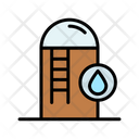 Water Tank Water Reservoir Water Storage Icon