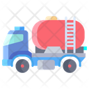 Water Tanker Truck Icon