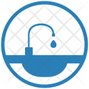 Tap Washing Dishes Icon