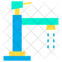 Wash Water Tap Tap Handles Icon