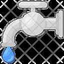 Water Tap Faucet Plumbing Icon