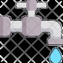 Water Tap Water Water Saving Icon