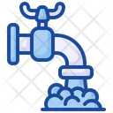 Water Tap Faucet Pipe Icon