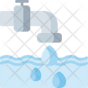 Water Tap Water Faucet Water Supply Icon