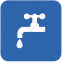 Tap Water Toilet Icon