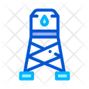 Water Cistern Tower Icon