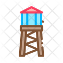 Background Fire Water Icon