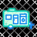Trailer Water Modular Icon