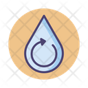 Water Treatment Reuse Water Water Recycling Icon